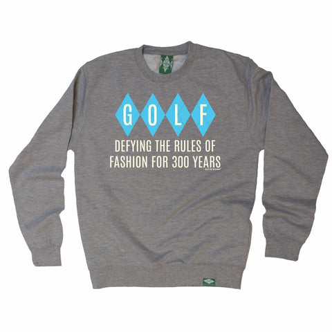 Out Of Bounds Defying The Rules Of Fashion Argyle Design Golfing Sweatshirt