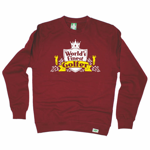 Out Of Bounds World's Finest Golfer Golfing Sweatshirt
