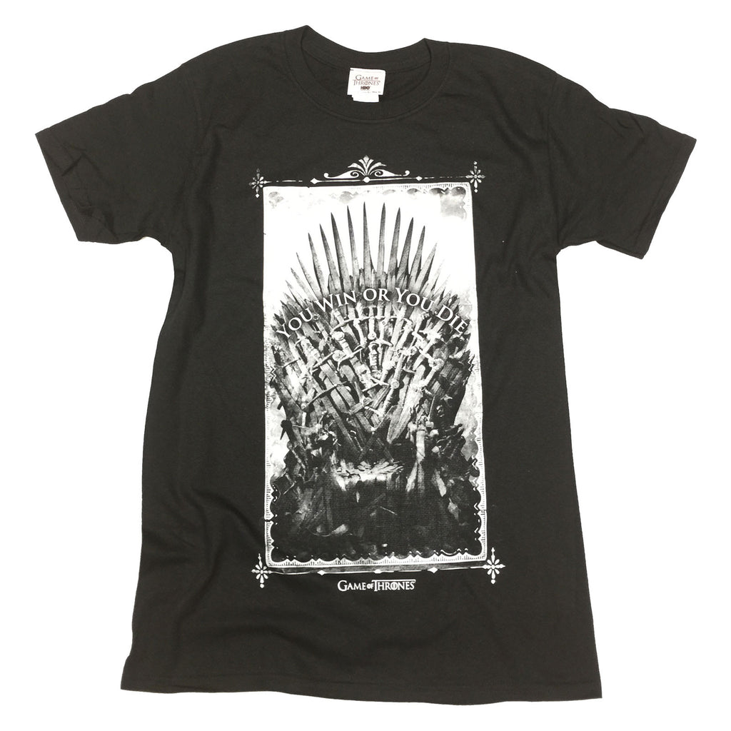 Game Of Thrones Win or Die Official T-Shirt
