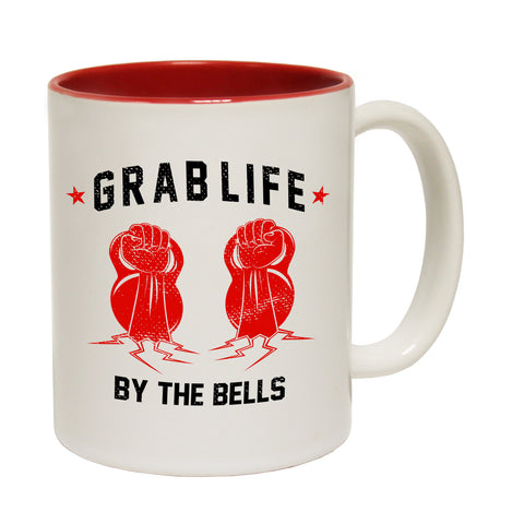 SWPS Grab Life By The Bells Funny Gym Mug