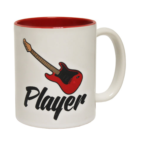 Banned Member Electric Guitar Player Funny Mug