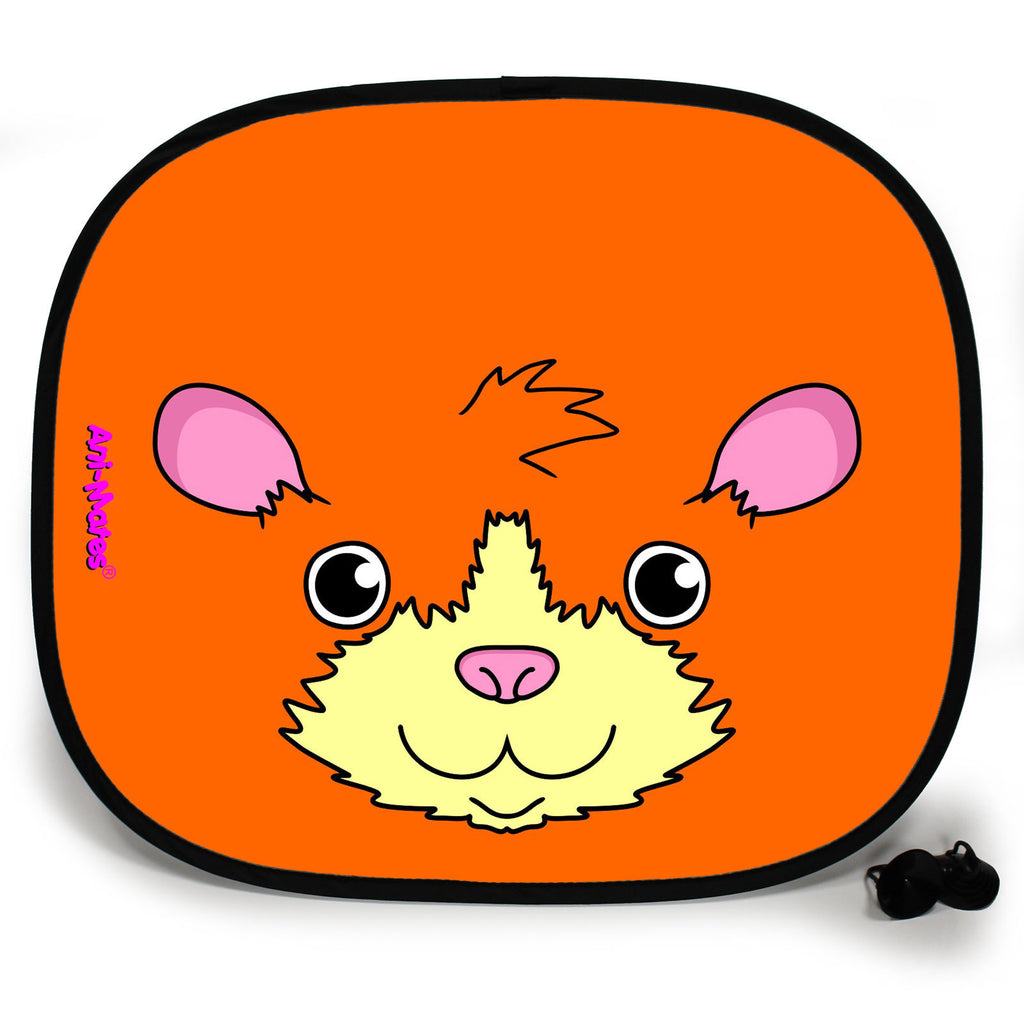 Ani-Mates Animals Guinea Pig Personalised UV Protection Fun Vehicle Interior Window Car Sunshade