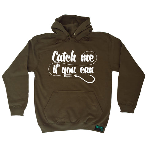 Drowning Worms Catch Me If You Can Fishing Hoodie