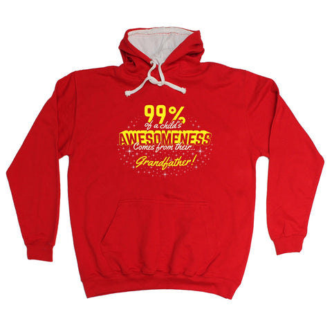 123t USA 99% ... Awesomeness … Their Grandfather Funny Hoodie
