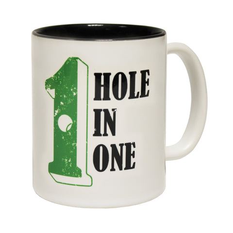 Out Of Bounds Hole In One Golf Funny Mug