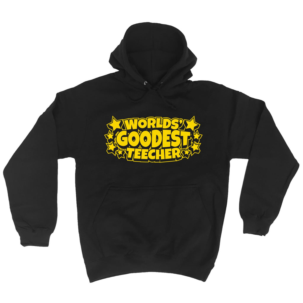 123t Worlds Goodest Teacher - HOODIE