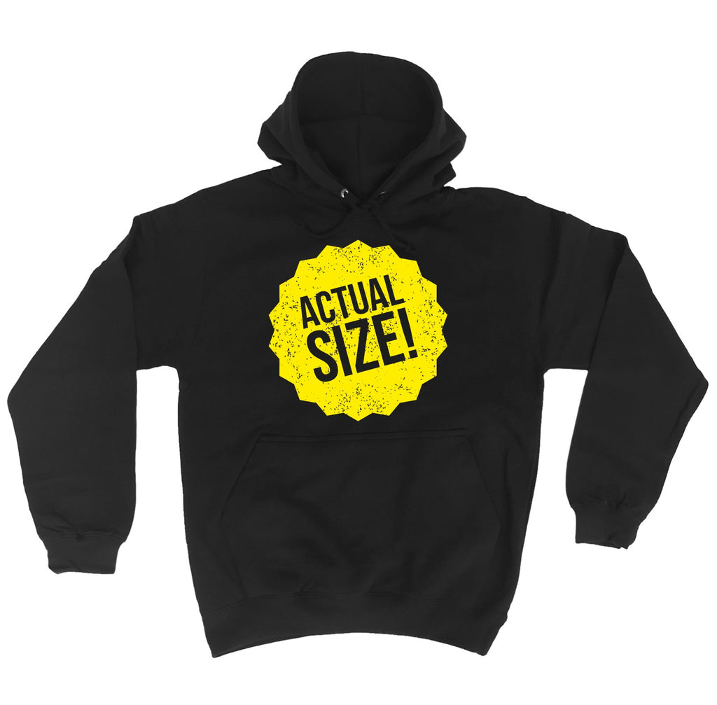 123t Actual Size Sticker Design Funny Hoodie - 123t clothing gifts presents