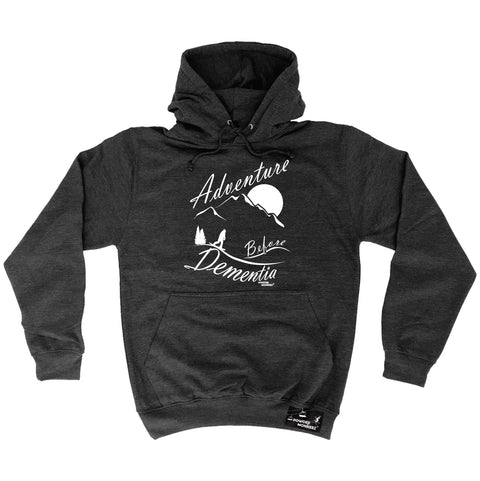 Powder Monkeez Adventure Before Dementia Snowboarding Snowboard Hoodie