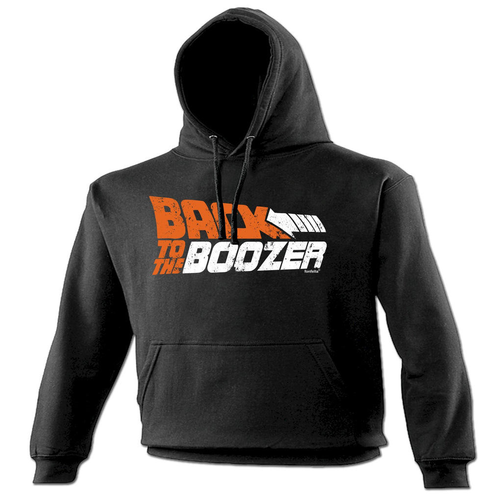 123t Back To The Boozer Funny Hoodie