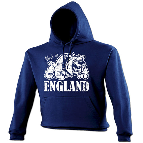 123t Made In England Funny Hoodie