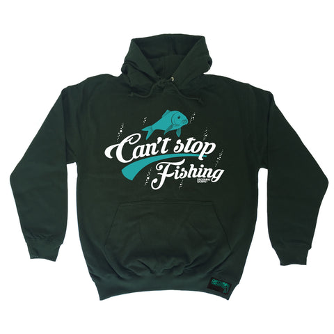 Drowning Worms Can't Stop Fishing Hoodie