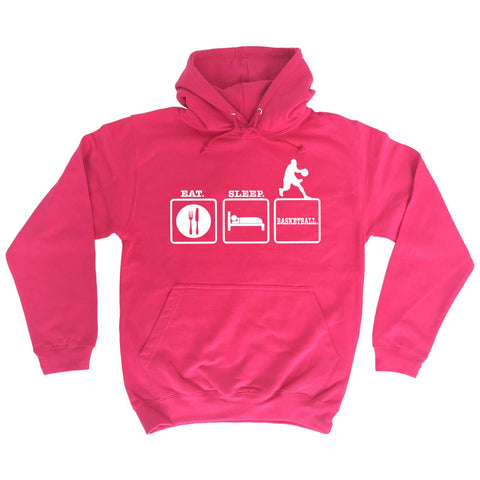 Eat Sleep Basketball - HOODIE