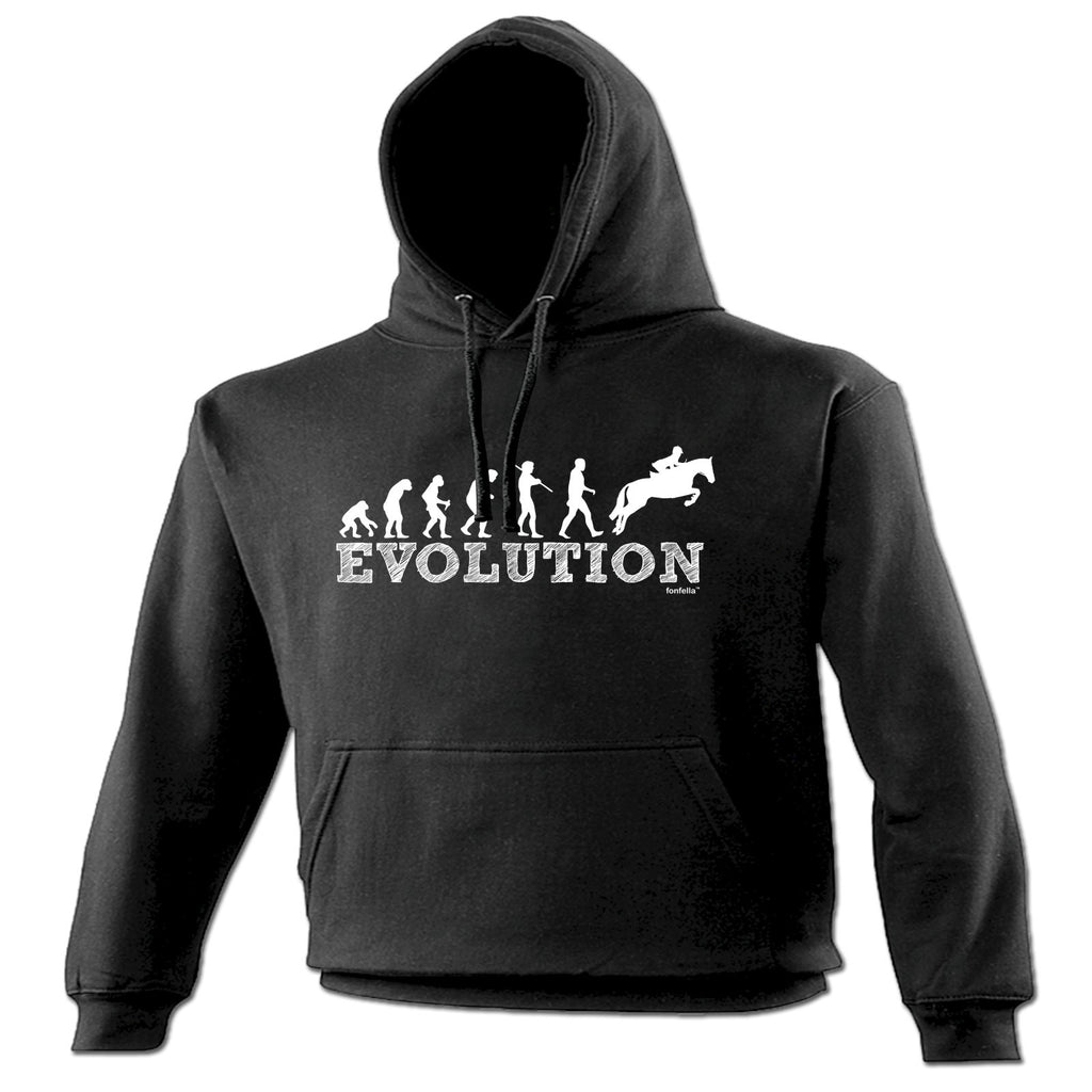 123t Evolution Show Jumping Funny Hoodie