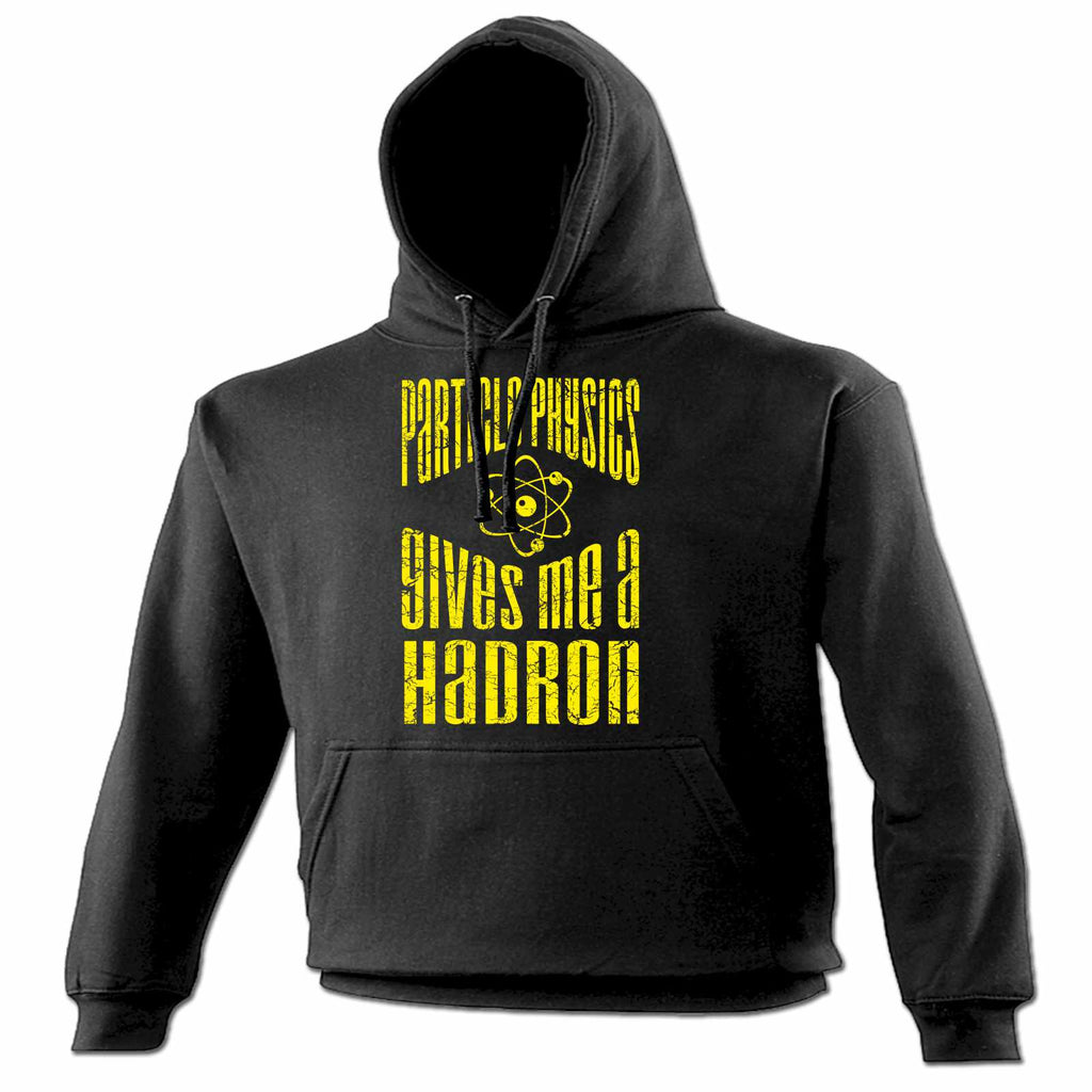 123t Particle Physics Gives Me A Hadron Funny Hoodie, 123t