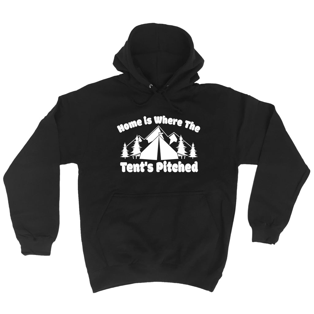 123t Home Is Where The Tents Pitched - HOODIE, 123t