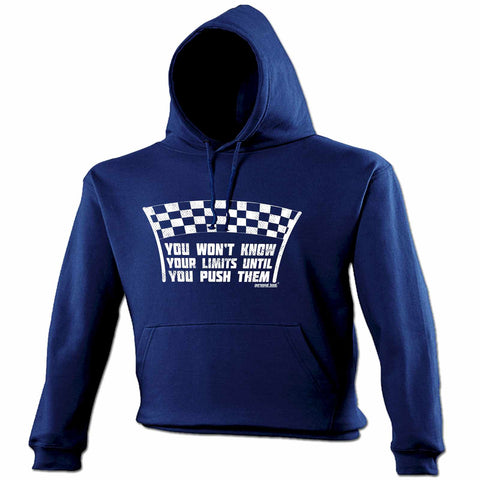 Personal Best Won't Know Limits Until You Push Them Running Hoodie