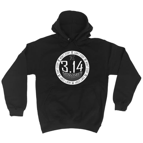 123t Pi Can't Stop Won't Stop - HOODIE