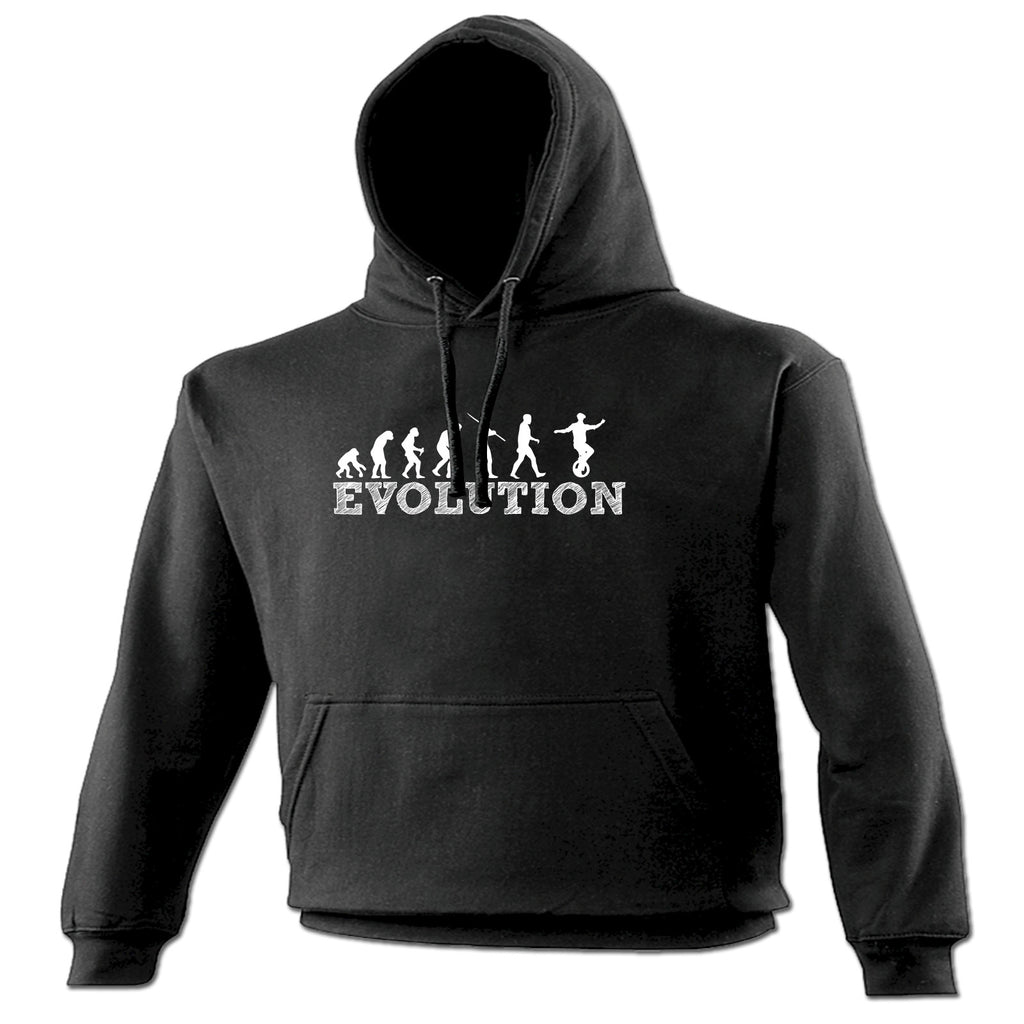 123t Evolution Unicycle Funny Hoodie