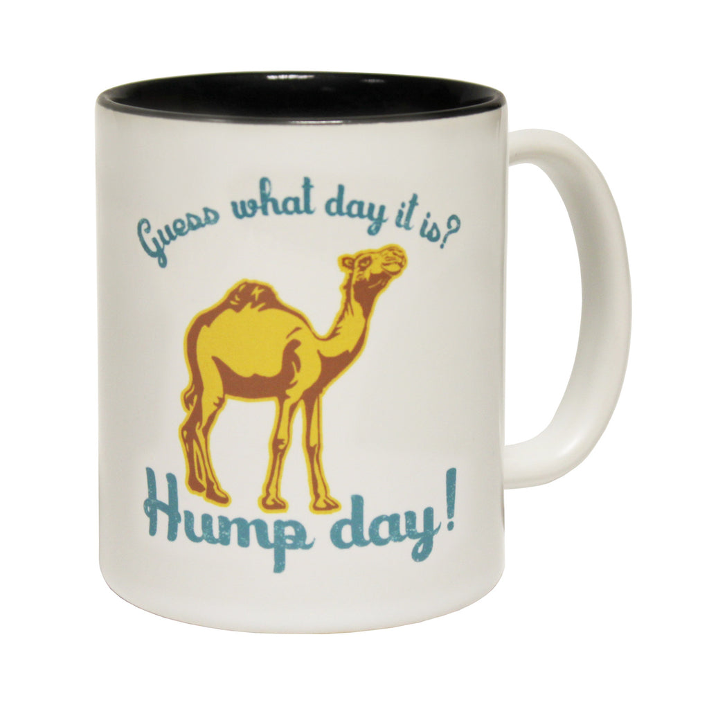 123t Guess What Day It Is ? Hump Day Funny Mug