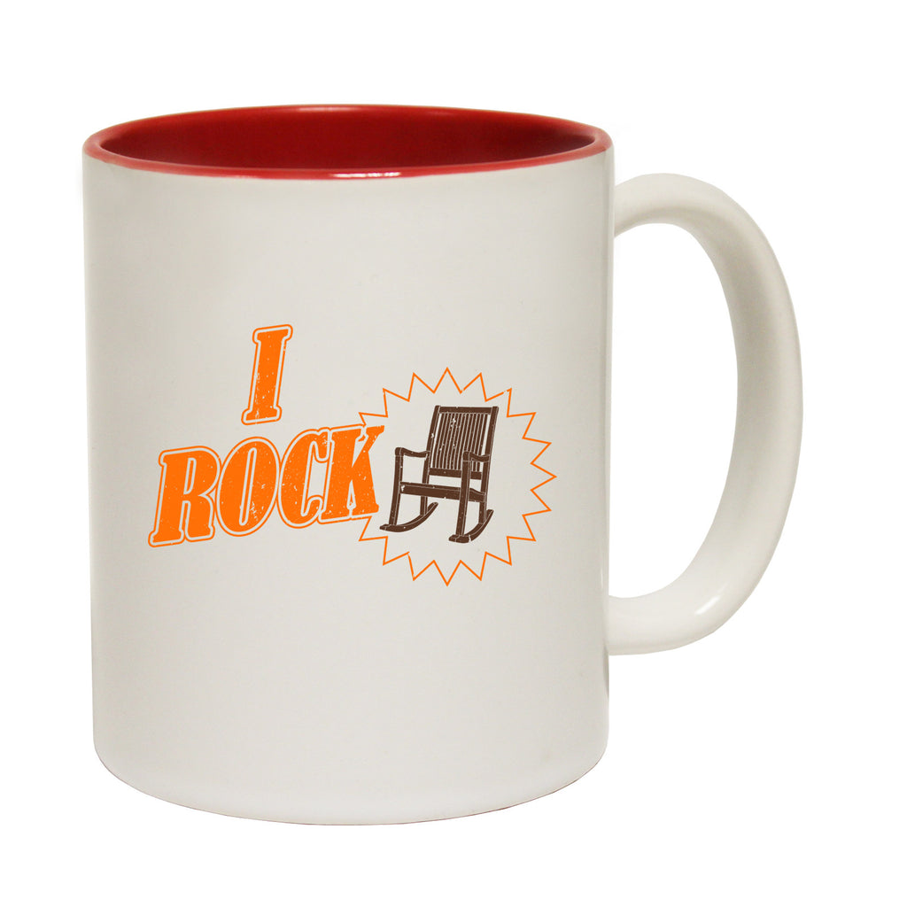 123t I Rock Rocking Chair Funny Mug - 123t clothing gifts presents