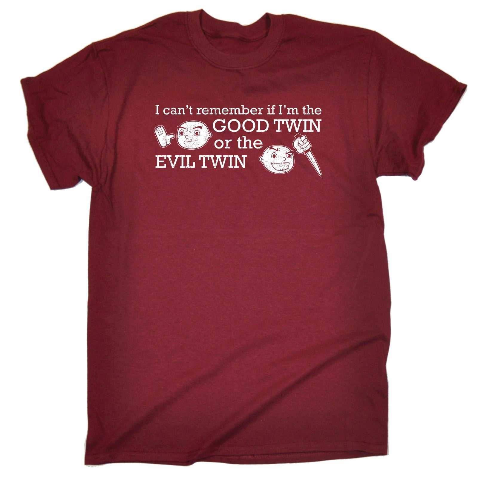 Good Or Evil Twin T SHIRT Brother Sister