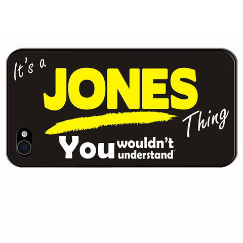 123t It's A Jones Thing You Wouldn't Understand iPhone Cover ( All Models )