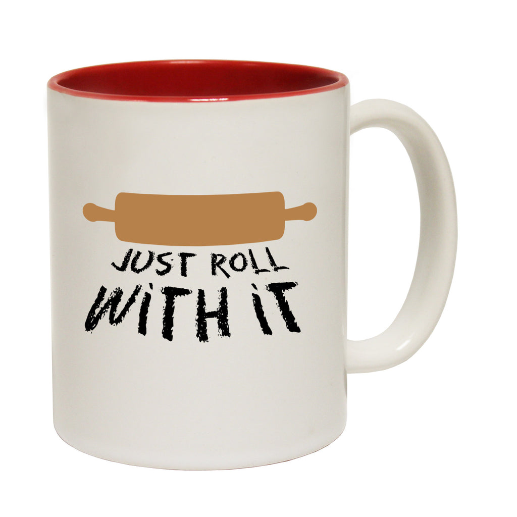 123t Just Roll With It Funny Mug