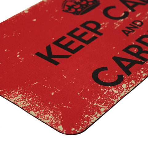 Official Keep Calm and Carry On Bar Runner