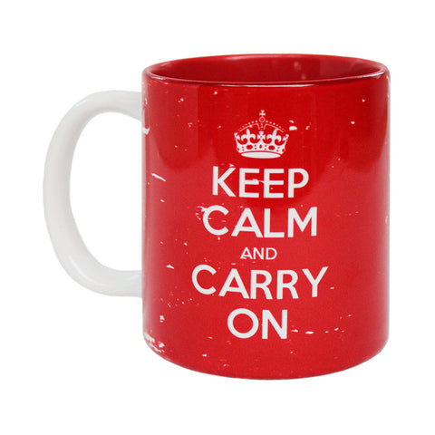 Official Keep Calm and Carry On British Full Bleed Mug