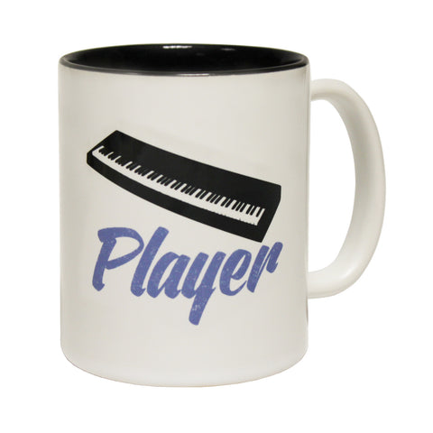 Banned Member Keyboard Player Funny Mug
