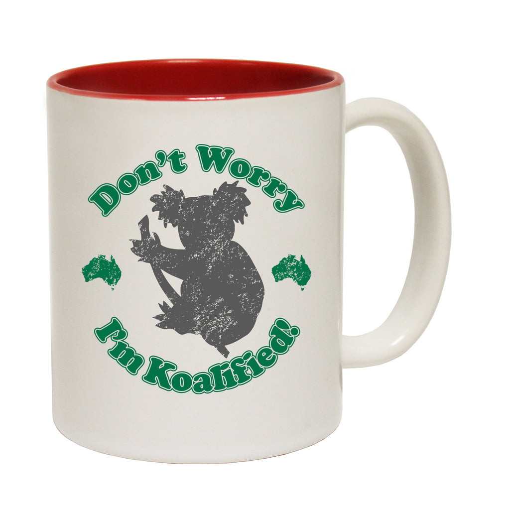 123t Don't Worry I'm Koalifield Funny Mug