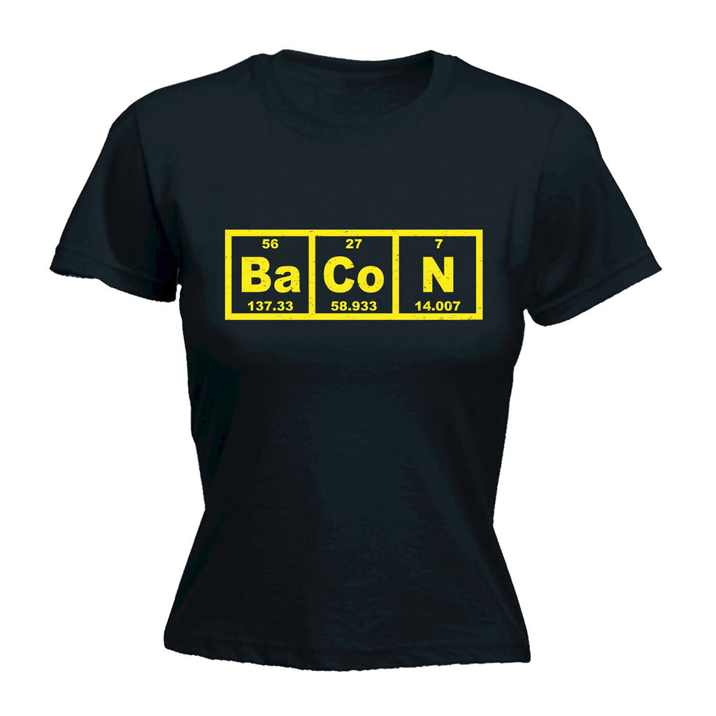 123t Women's Bacon Elements Funny T-Shirt