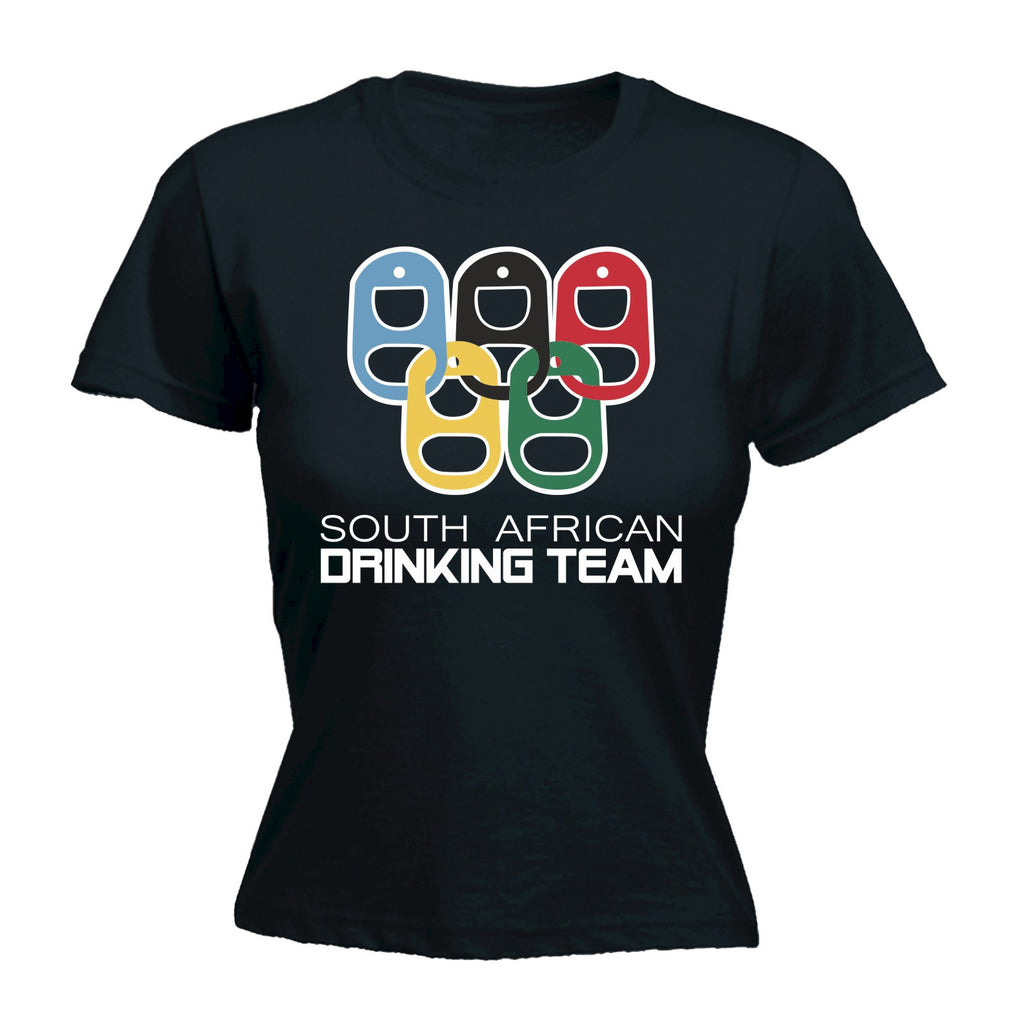 123t Women's South African Drinking Team - FITTED T-SHIRT