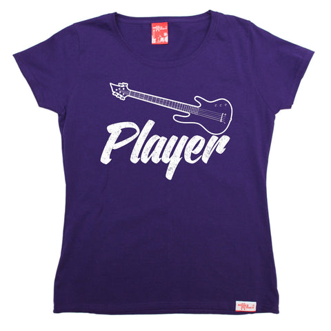 Banned Member Women's Bass Player Guitar T-Shirt
