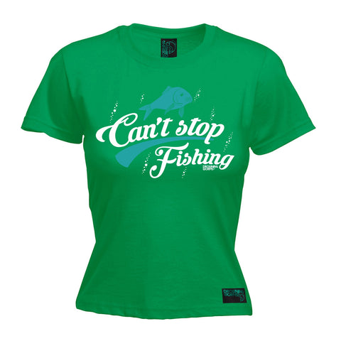Drowning Worms Women's Can't Stop Fishing T-Shirt