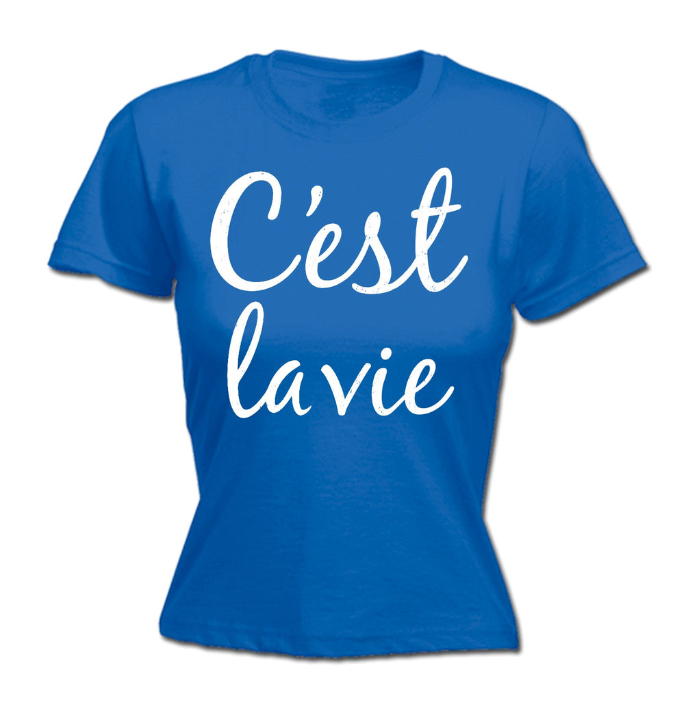 Buy 123t Women's Ces't La Vie French France Holiday Life Is Good Peace  Tourism 2017 fashion FITTED T-SHIRT at 123t T-Shirts & Hoodies for only  £11 79