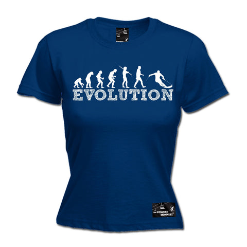 Powder Monkeez Women's Evolution Skiing Ski T-Shirt