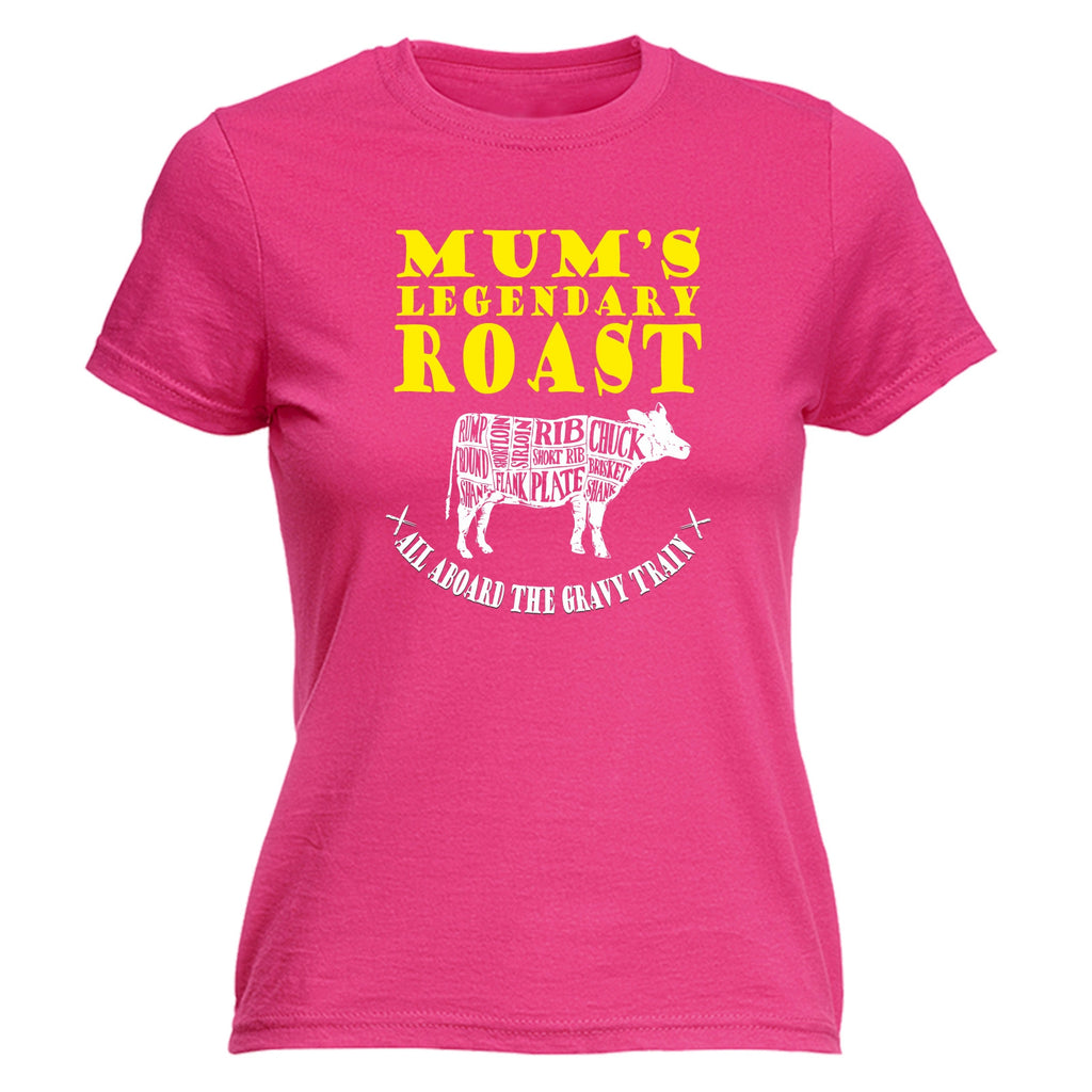 Buy 123t Women's Mum's Legendary Roast Funny T-Shirt at 123t T-Shirts &  Hoodies for only £12 99