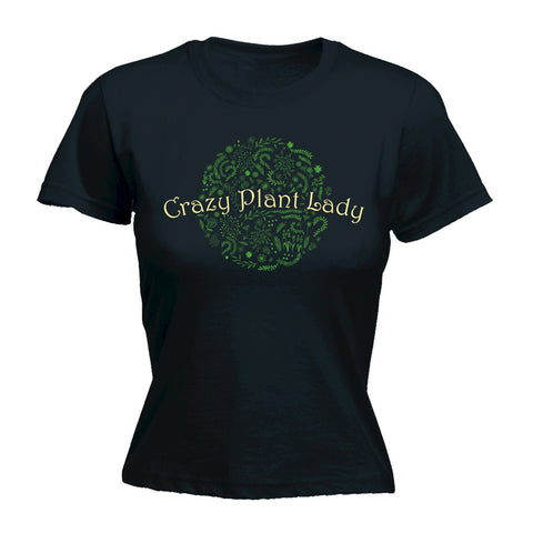 123t Women's Crazy Plant Lady - FITTED T-SHIRT