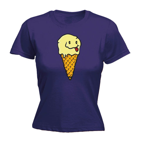 123t Women's Single Cheeky Ice Cream - FITTED T-SHIRT