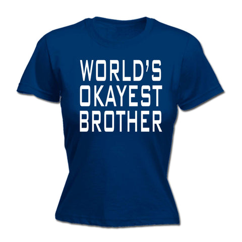 123t - Worlds Okayest Brother -  HOODIE