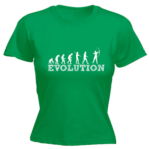 123t Women's Evolution Archery Funny T-Shirt
