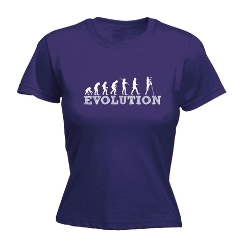 123t Women's Evolution Decorator Funny T-Shirt