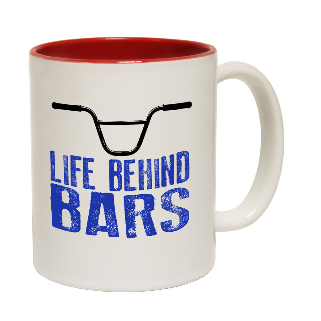 Ride Like The Wind Life Behind Bars BMX Funny Cycling Mug