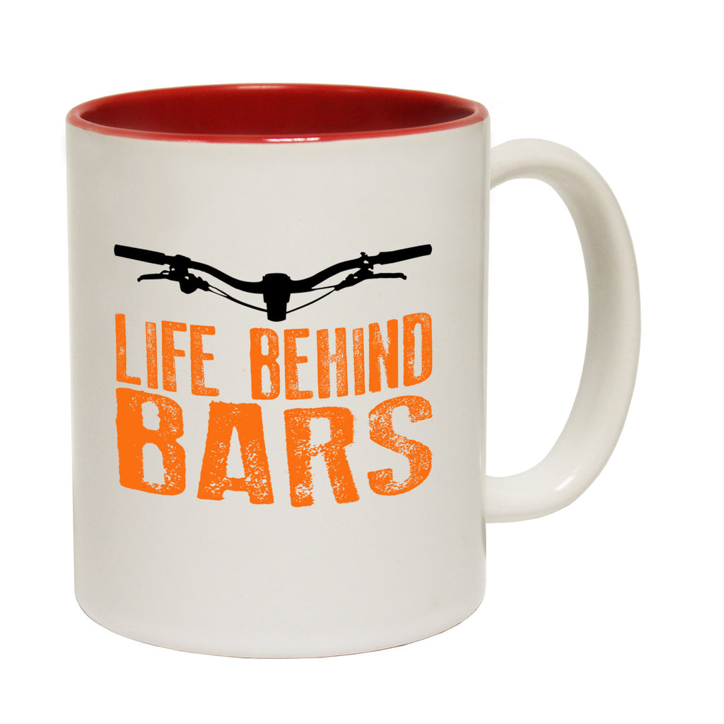 Ride Like The Wind Life Behind Bars Downhill Funny Cycling Mug