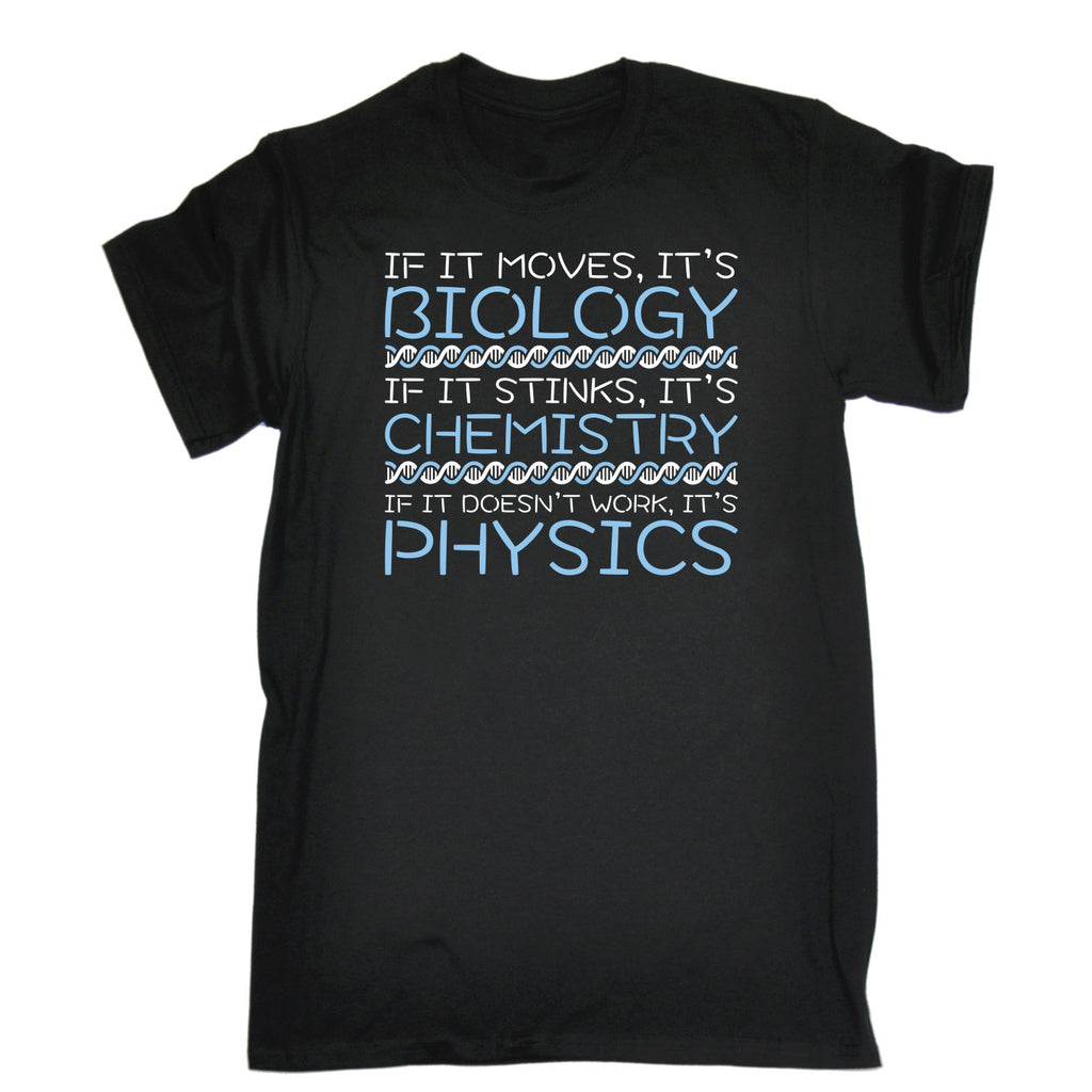 123t Men's Biology Chemistry Physics T-SHIRT
