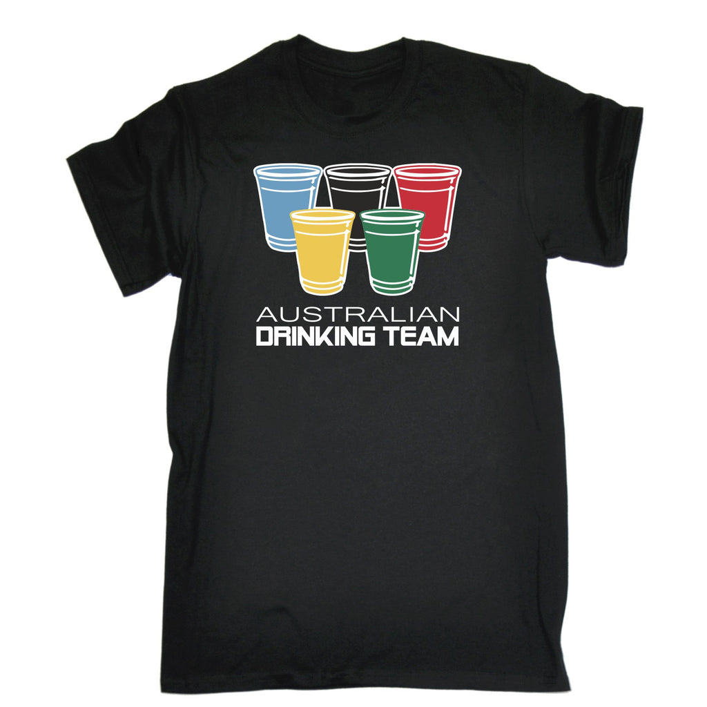 123t Men's Australian Drinking Team T-SHIRT