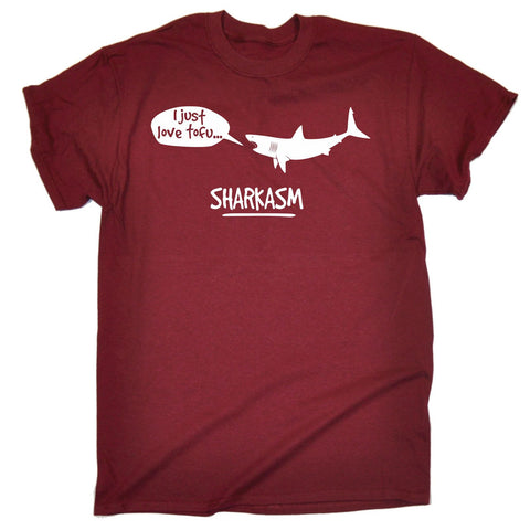 123t Men's I Just Love Tofu Sharkasm T-SHIRT