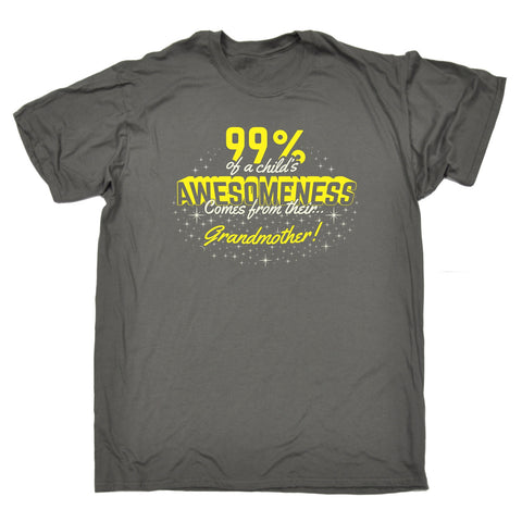 123t Men's 99% ... Awesomeness ... Their Grandmother Funny T-Shirt