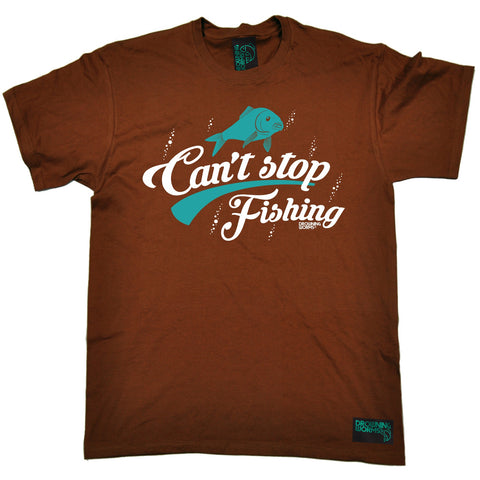 Drowning Worms Men's Can't Stop Fishing T-Shirt